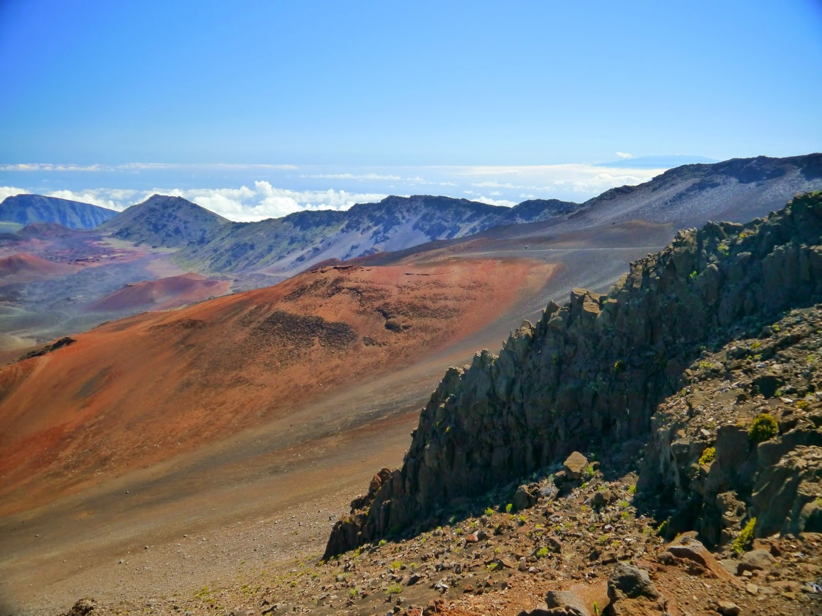 American Travel Journal  Summit Area   Haleakal   National Park