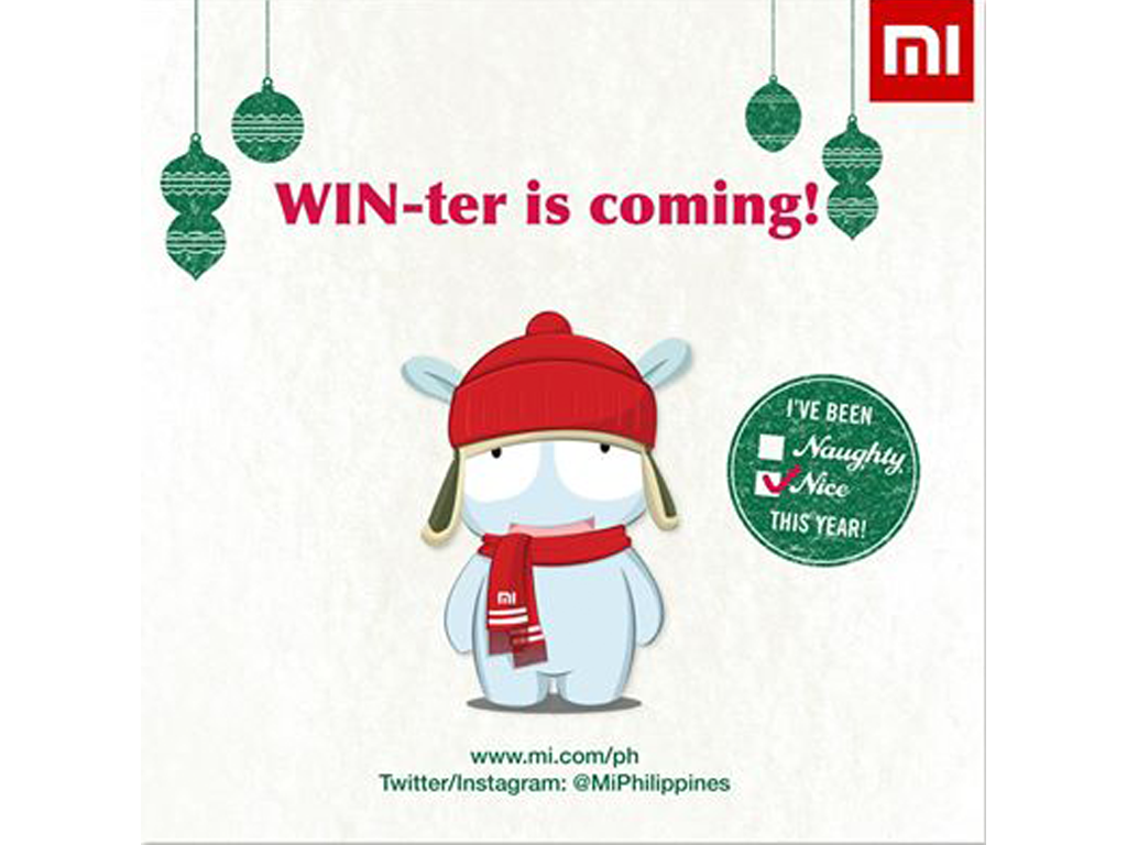 A Christmas Present From Mi: Mi Experience Event From December 18-31 at SM North EDSA