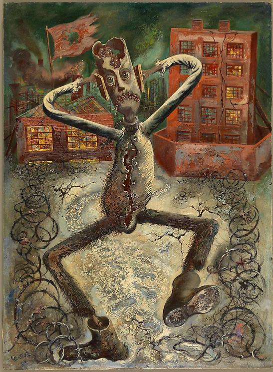 ART BLOG ART BLOG The Grey Man Dances 1949 George Grosz