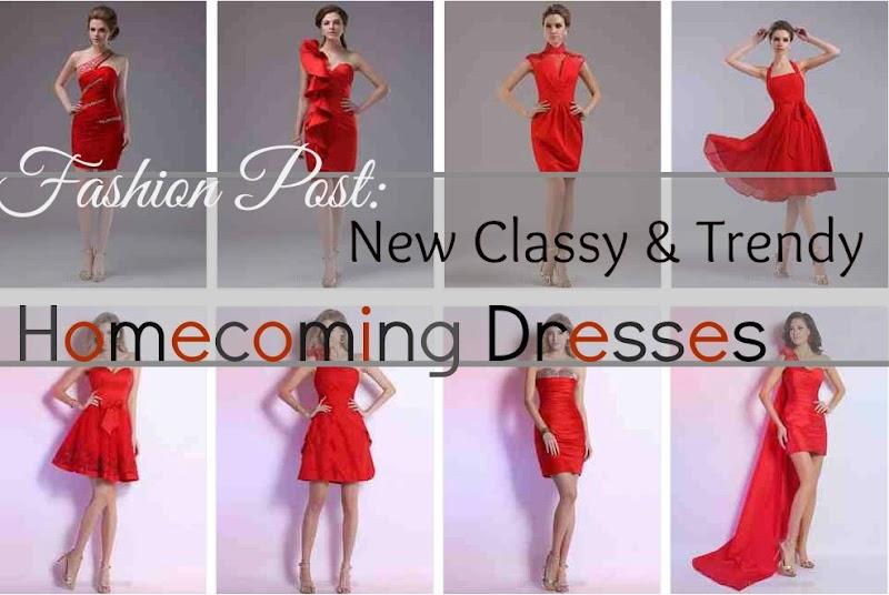 Fashion Post: New Classy & Trendy Homecoming Dresses
