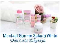 Manfaat Garnier Sakura White Pinkish Radiance, Smooth Pores, Serum Cream dan Efek Sampingnya
