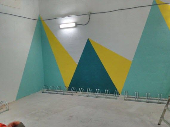 Nuevos aparcabicis programa reB en Plaza de Castilla y Plaza Elíptica