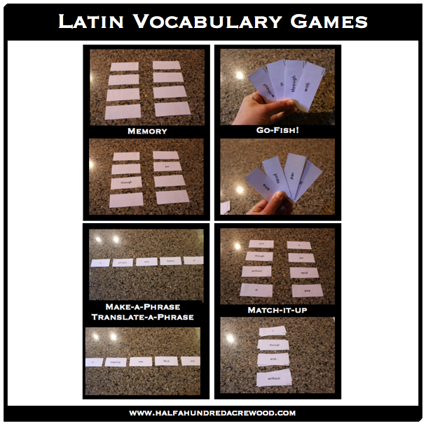 Latin For Game 107