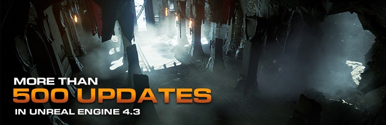 Epic Games Newly Released Unreal Engine 4 3 Includes