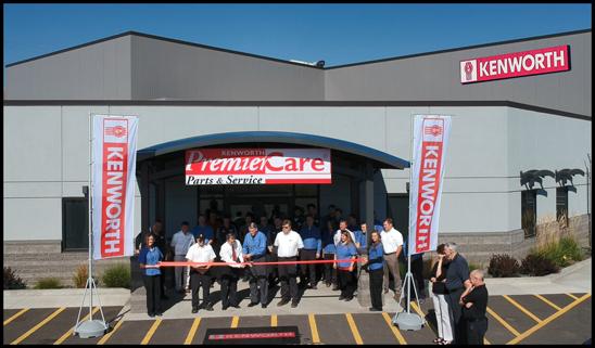 Kenworth Sales Company Lewiston, Idaho Dealership Grand Reopening
