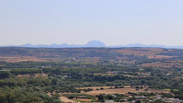 Sierra de Grazalema desde el Mirador de Abades - Arcos de la Frontera