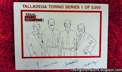 #51 Racing Champions 1/64 Ford Talladega Torino NASCAR blog Robert Dods Boyd Meyer Peter Chang