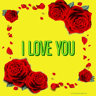 Rose flowers Love proposal image Greetings for lovers