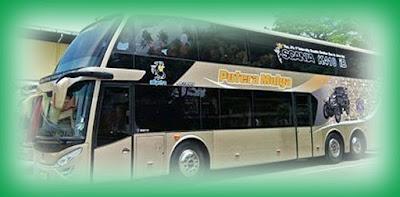 Bus Tingkat Putera Mulya dari Wonogiri