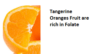 Health Benefits of Tangerine Oranges - Folate