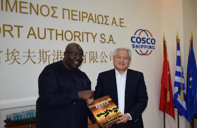 Επίσημη επίσκεψη του Πρέσβη της Κένυας στον ΟΛΠ
