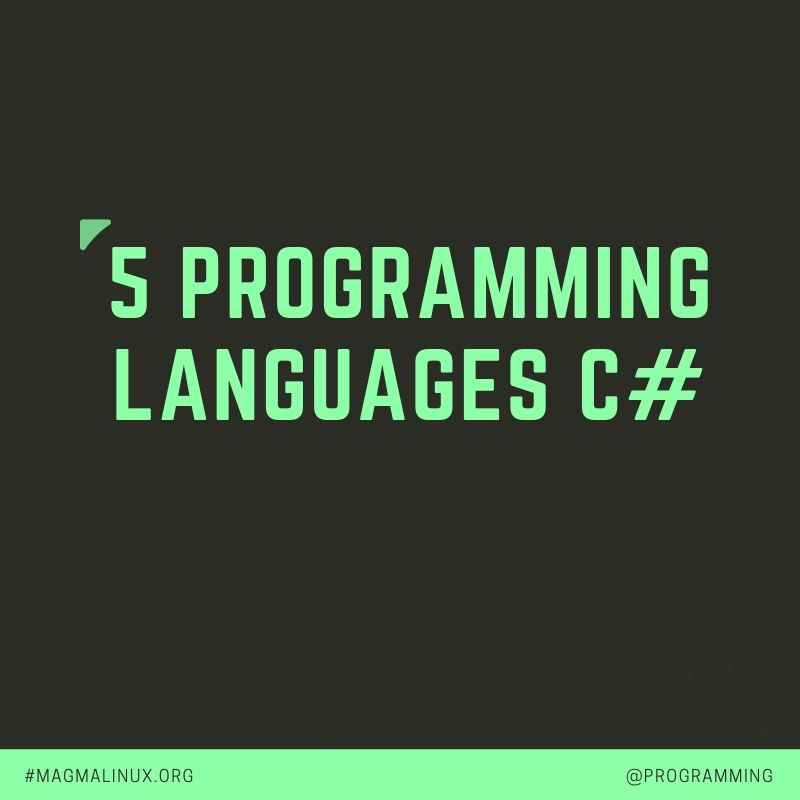 What is The Best Programming Language to learn in 2019