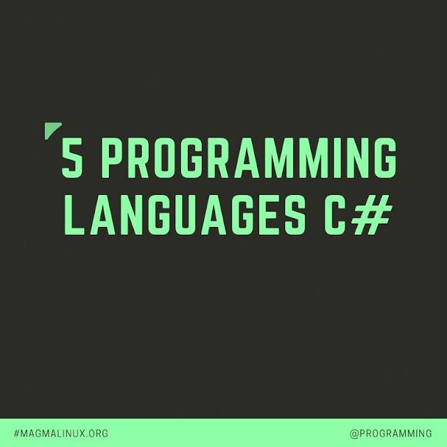 programming languages c#