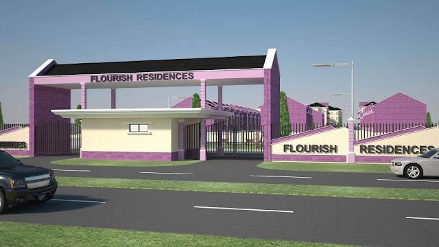 Flourish Residence Estate Gate