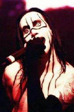 imagen de Marilyn Manson en su etapa dwel Anticrist Superstar