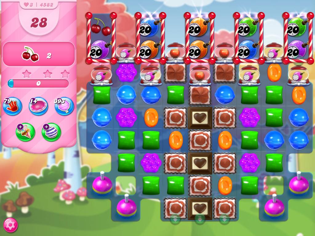 Candy Crush Saga level 4582