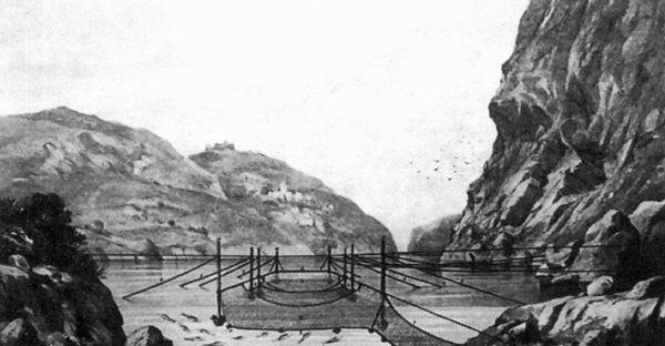 Завод для ловли скумбрии в Балаклаве