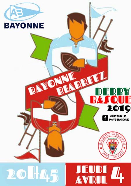 Pro D2 : le derby Bayonne-Biarritz 2019