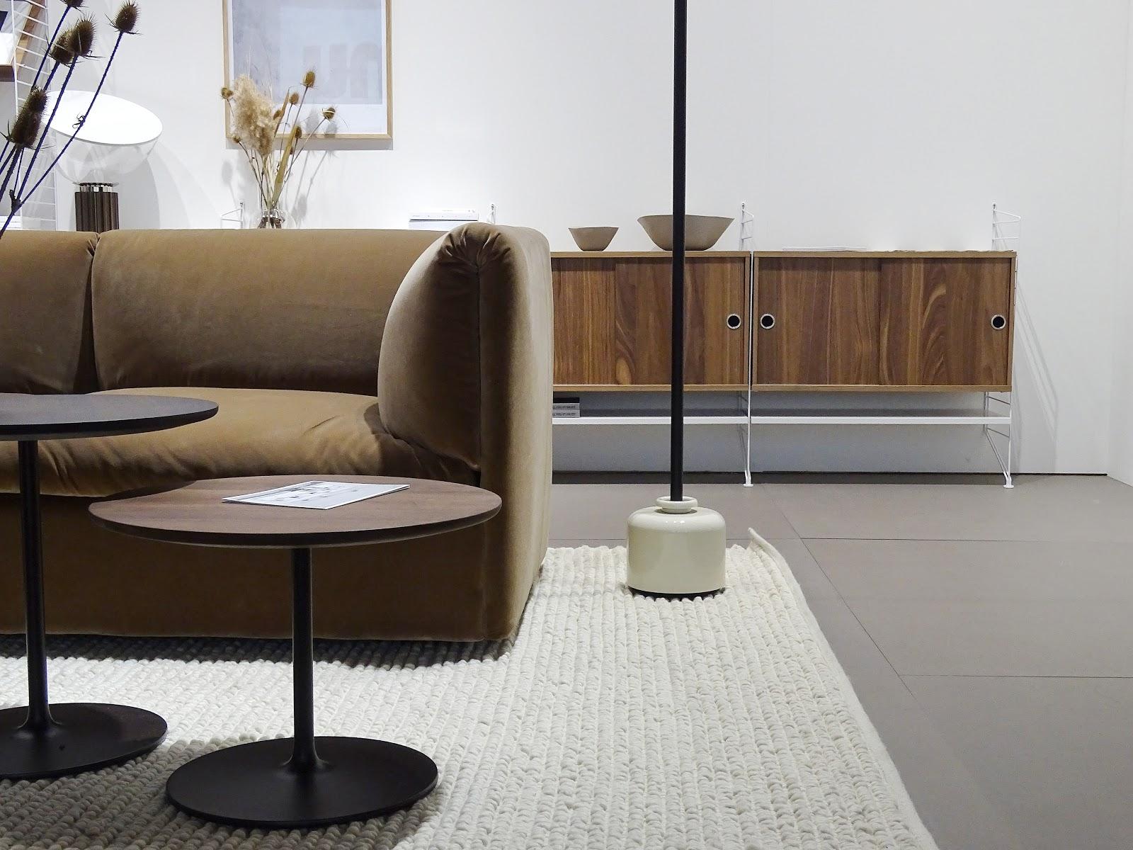 Impressionen und Trends von der Internationalen Möbelmesse 2018 in Köln - Messetour mit Blogst Lounge - String Furniture - http://mammilade.blogspot.de