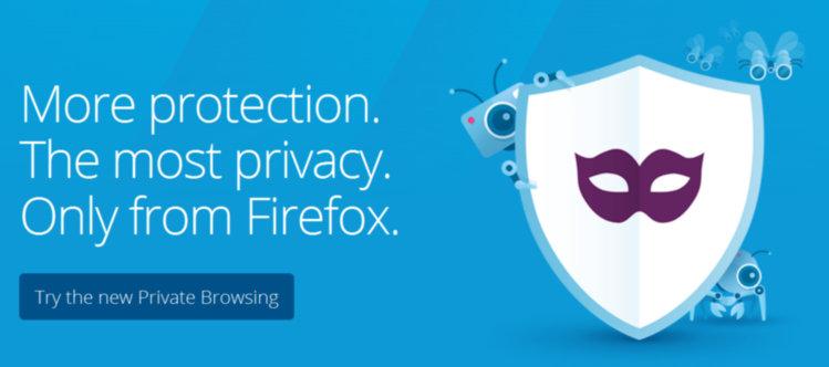 Mozilla Firefox Privacidad