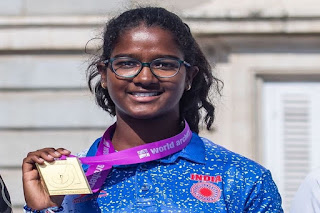 Komalika Bari won Gold at World Archery Youth Championship 2019