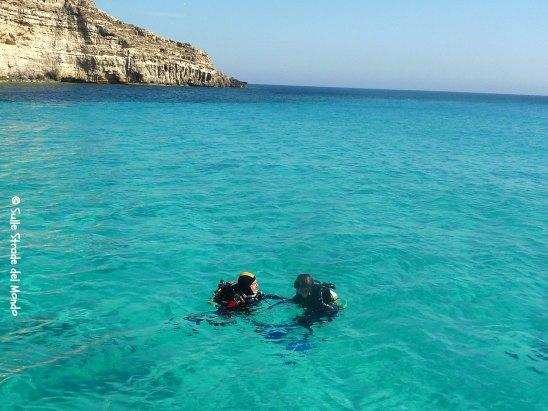 Lampedusa Cala Tabaccara