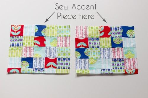 Patchwork Drawstring Bag Tutorial | InColorOrder.com