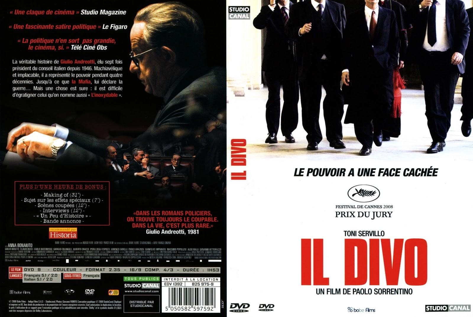 Jaquette dvd jaquette dvd il divo - Il divo movie ...