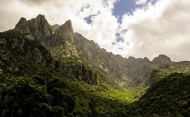 montagne della corsica