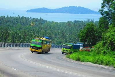 Mudik lebaran menggunakan bus