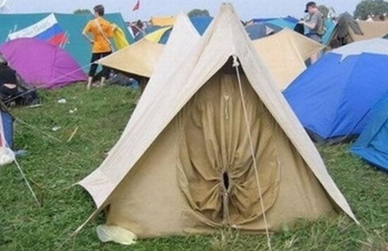 палатка жопа
