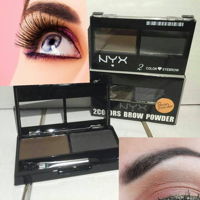 NYX EYEBROW POWDER CAKE  NYX 2 Colors