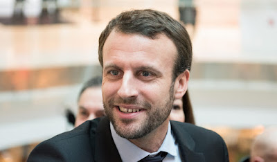 Emmanuel Macron in Hindi
