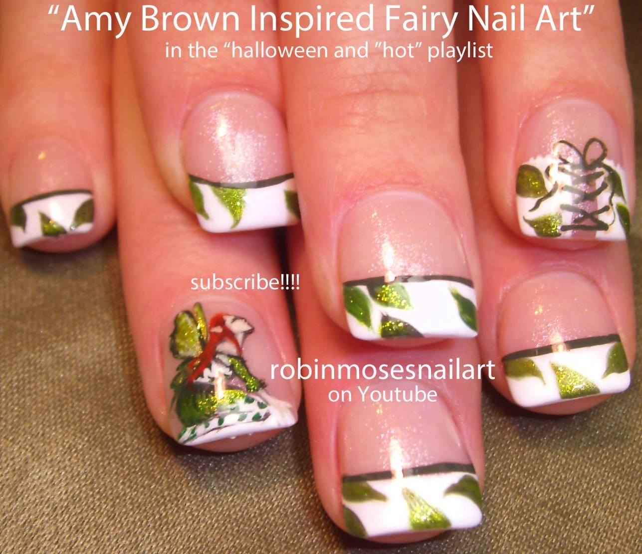 Nail Art by Robin Moses: Cutest Amy Brown Fairy Nail Art, cute Fairy ...