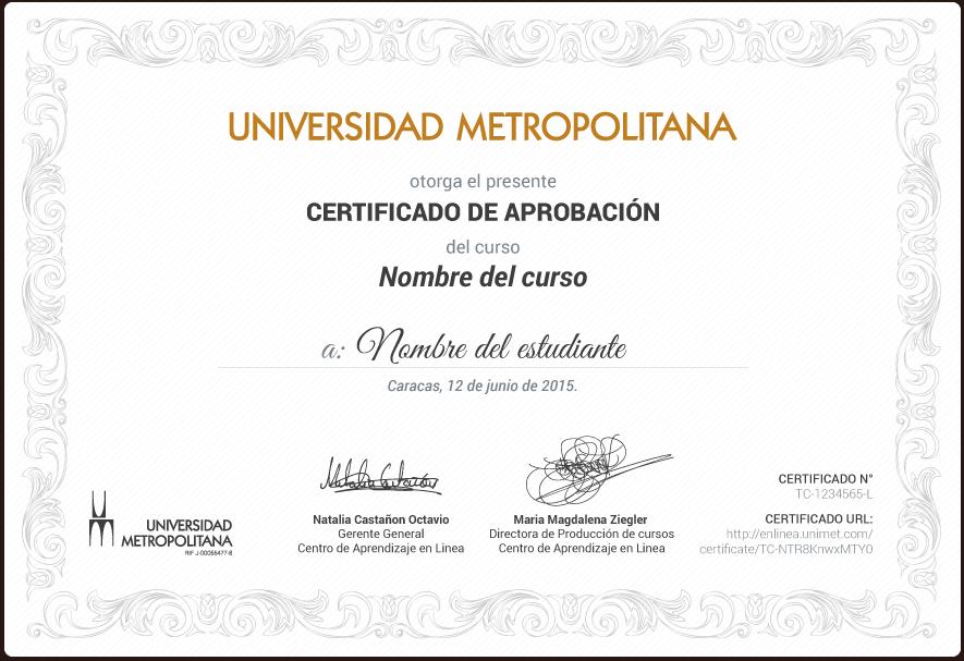 Cursos online gratis de la UNIMET (con certificado) | Oye Juanjo!