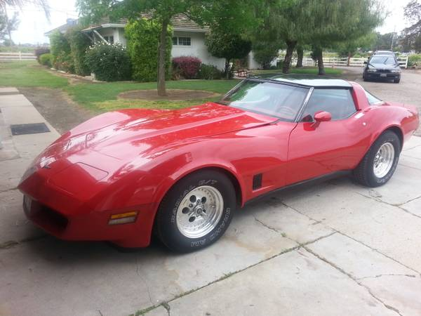 daily turismo little red corvette 1981 chevrolet corvette c3. Cars Review. Best American Auto & Cars Review