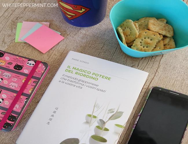 1 Pin/Book al mese (Aprile): Il magico potere del riordino, wahi tape cover phone
