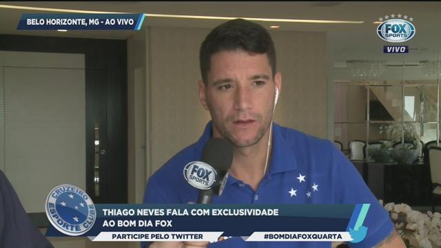 Thiago Neves no Corinthians  Meia se explica ao torcedor do Cruzeiro ... 2bb23060df405