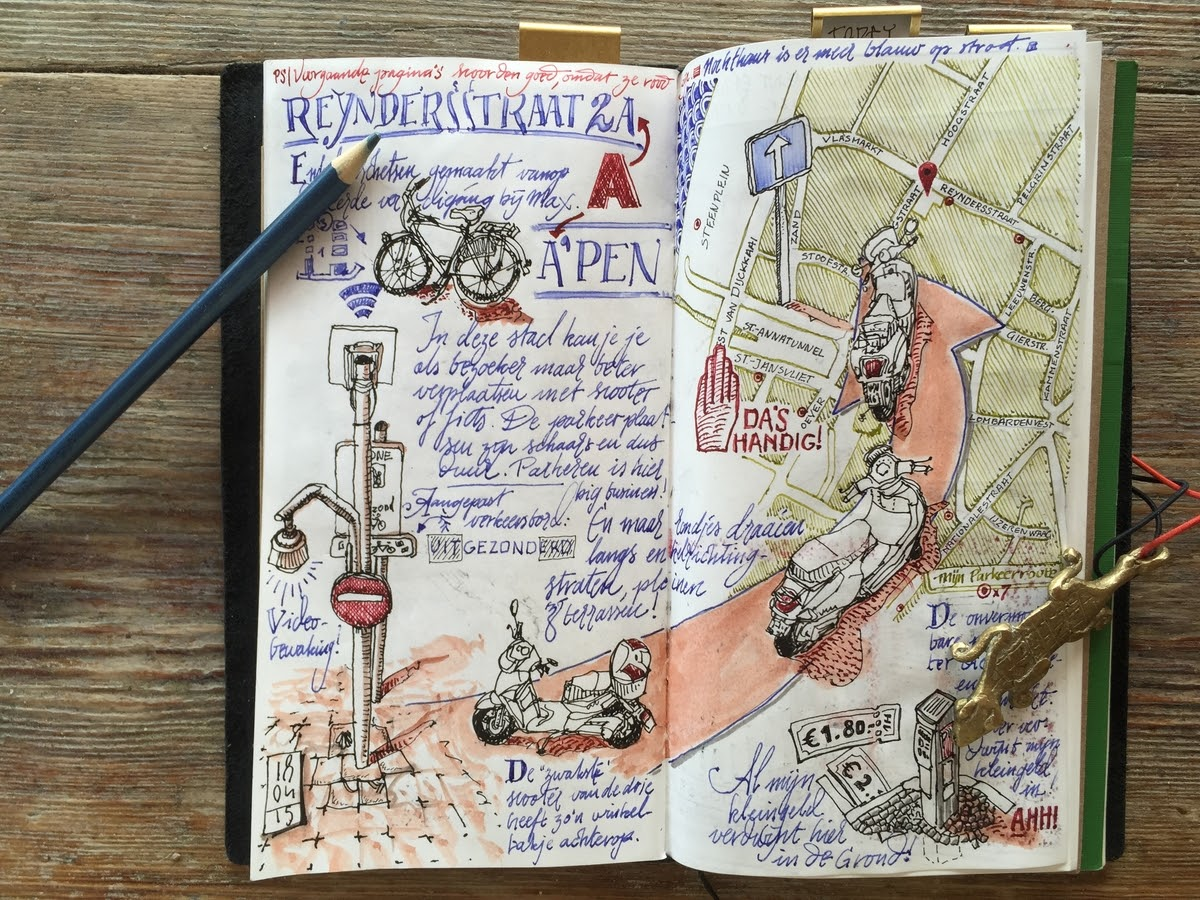 01-Antwerp-sketch-note-dessinauteur-Urban-Sketches-and-Travel-Journals-on-Moleskine-www-designstack-co