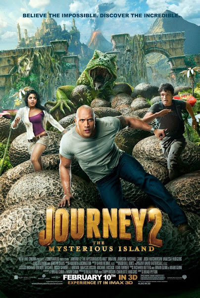 Poster of Journey 2 The Mysterious Island 2012 720p Hindi BRRip Dual Audio
