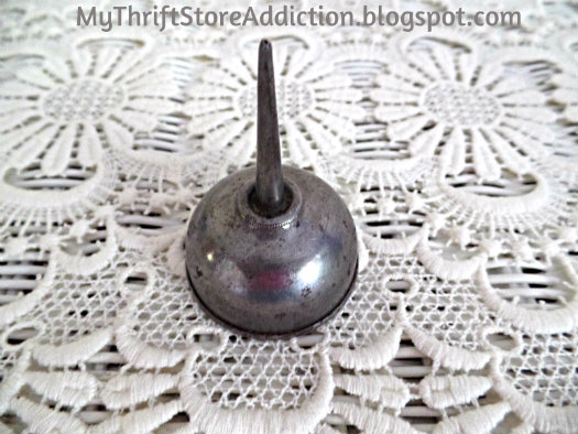 Vintage sewing machine oil can