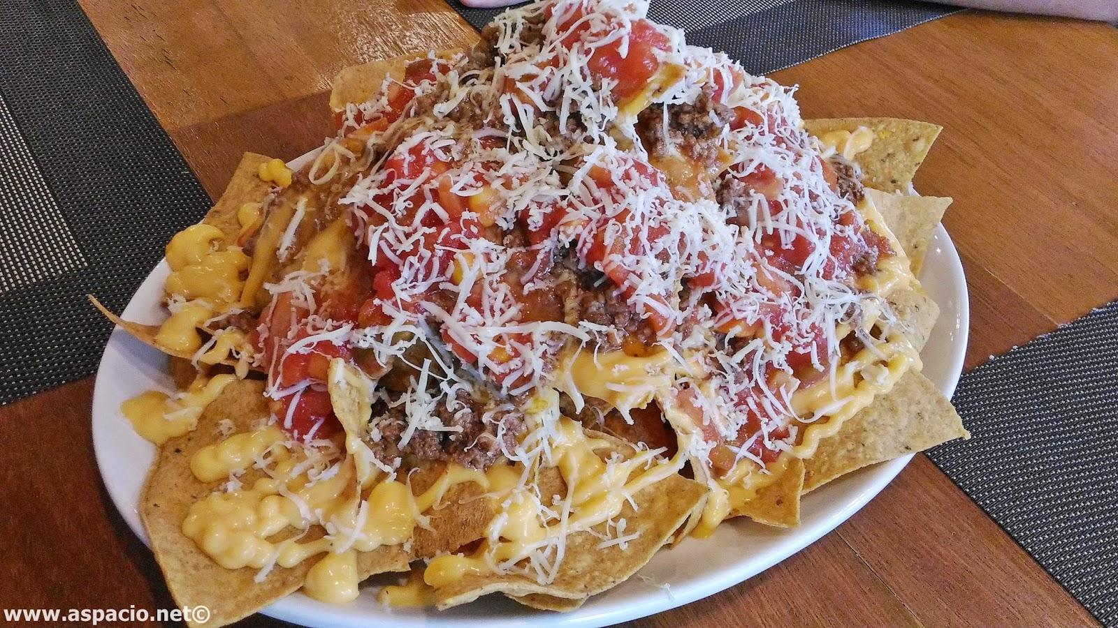 Fully loaded nachos from Beeffalo Antipolo