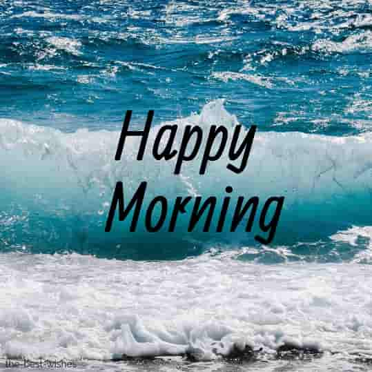 happy morning