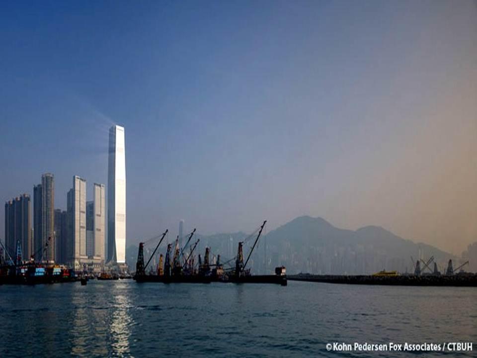 مركز التجارة الدولي في هونج كونج بالصين
