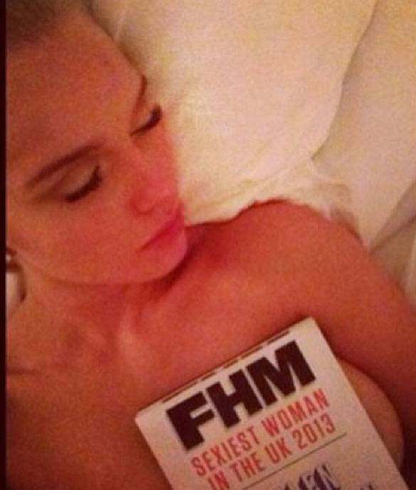 Helen Flanagan Topless Twitter - Sexiest woman in the UK