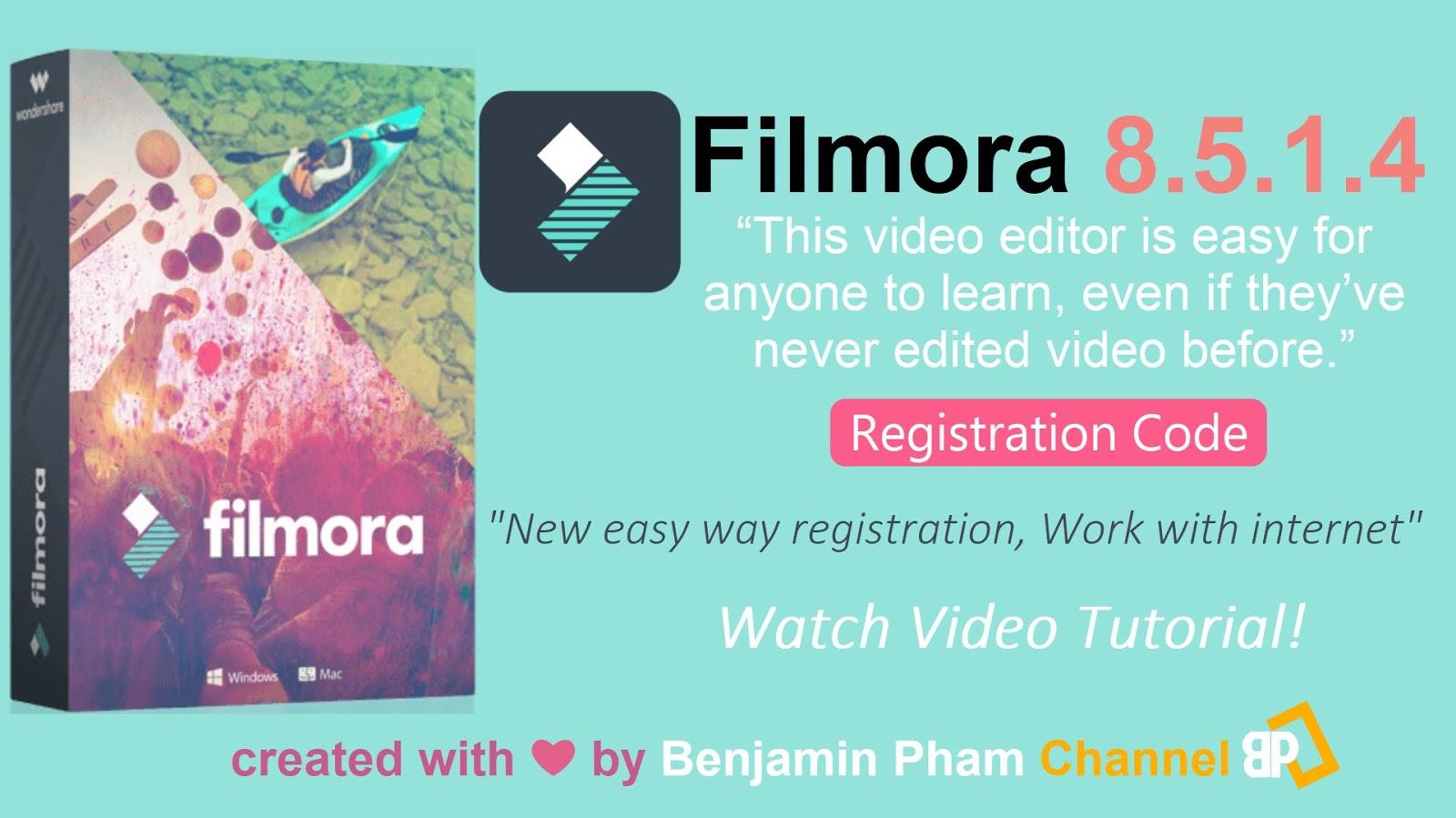 filmora registration code new