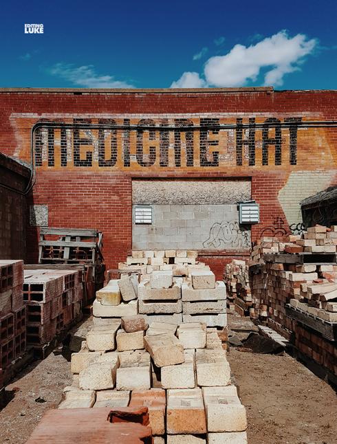 Spring Medicine Hat Alberta Photographer