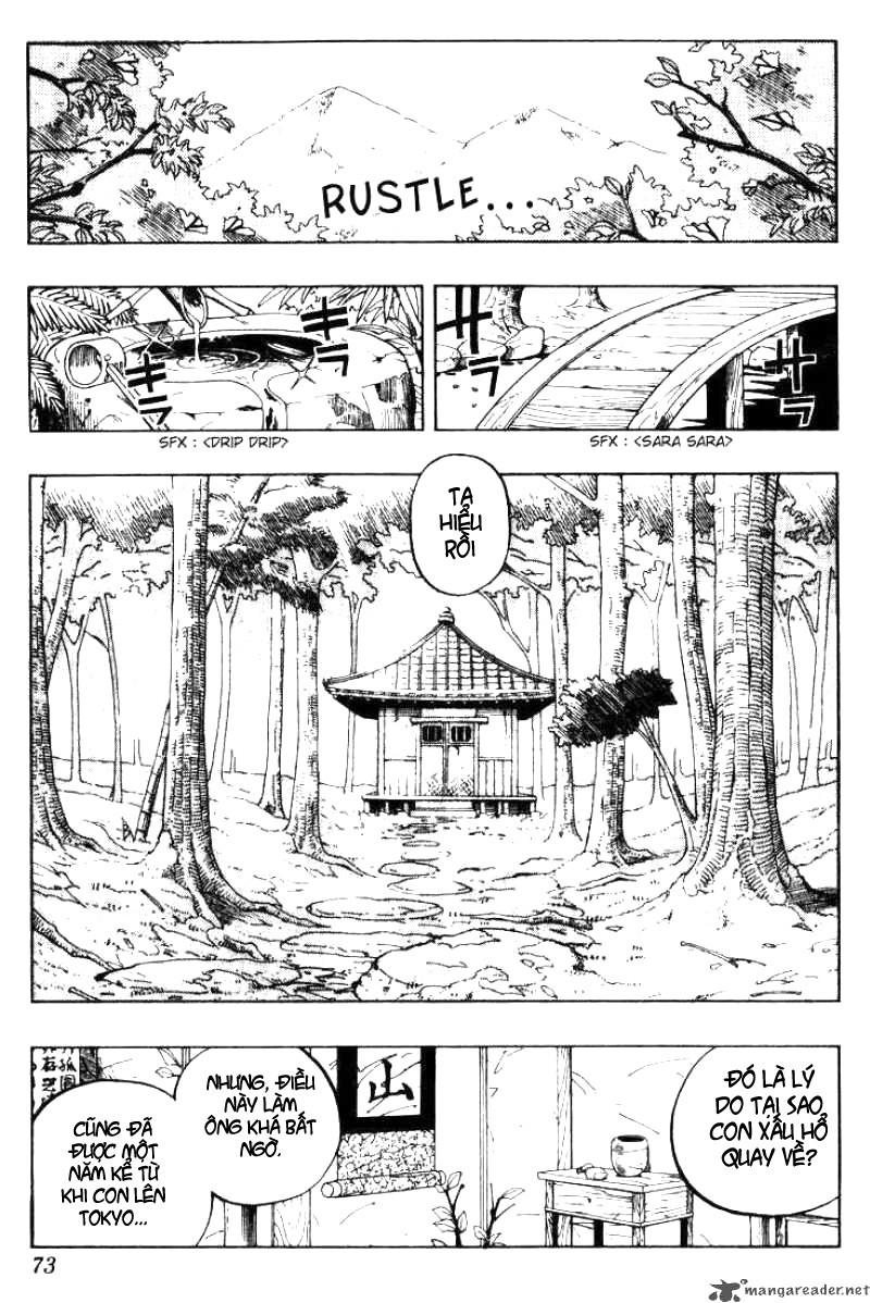 Shaman King [Vua pháp thuật] chap 48 trang 5