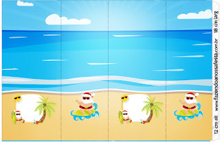 Christmas in the Caribbean: Free Printable Candy Bar Labels