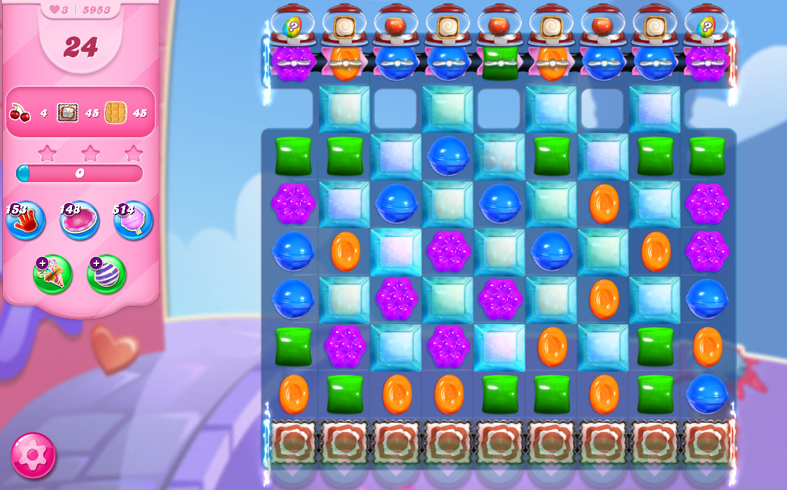 Candy Crush Saga level 5893